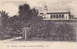 TUNIS - Le Jardin et le Casino du Belvedere , 1910s