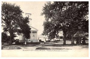 Connecticut   Thompson , Baptist Church