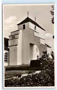 *Vitaby Kyrka Skane Church Chapel Sweden RPPC Vintage Real Photo Postcard C92