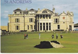 Post Card Scotland Fife St. Andrews Exclusive Card Co.
