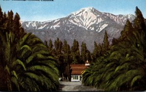 California Cucamonga Mountain