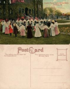 WESTERN PENNA INSTITUTION FOR BLIND PITTSBURG PA ANTIQUE POSTCARD