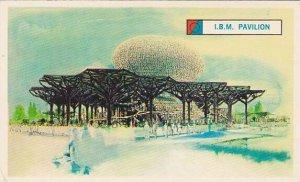 The IBM Pavilion, New York World's Fair , 40-60s