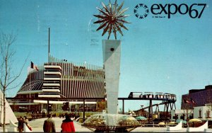 Canada Montreal Expo67 Pavilion Of France 1967