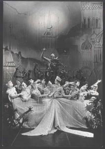 109524 EIFMAN Ballet FAIR-BIRD DANCER old REAL PHOTO