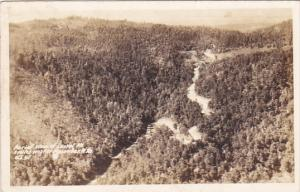 RP, Aerial View Of Laurel Mountain, MACOMBER, West Virginia, PU-1939