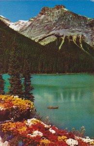 Michael Peak and Emerald Lake Yoho National Park Field British Columbia Canada