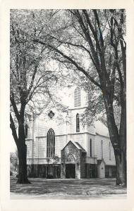 Amboy Ilinois~Congregational Church~1960s Real Photo Postcard~RPPC