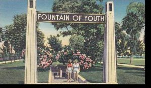 Florida St Petersburg Fountain Of Youth