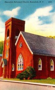 New York Rochester Rosendale Reformed Church
