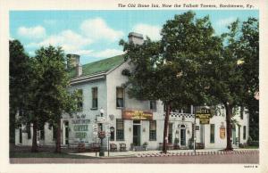 Postcard Old Stone Inn Bards town Kentucky