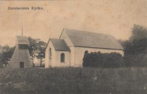 KYRKA, Sweden, 1900-1910s; Gunnarsnas
