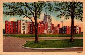 Iowa Iowa City University Hospital University Of Iowa 1952 Curteich