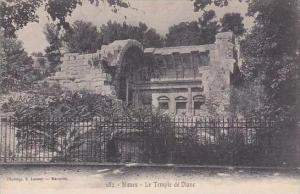 France Nimes Le Temple de Diane