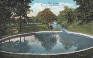 Arkansas Eureka Springs Blue Spring Curteich