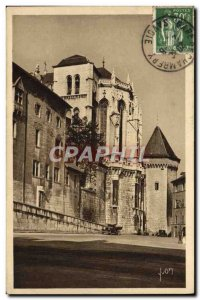 Old Postcard Chambery Palais des Ducs de Savoie La Sainte Chapelle
