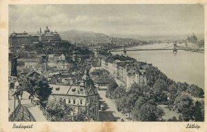 Carte postale Budapest Latkep taken from Mt St Gerard