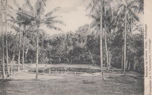 Badplaats Bij Soember Patjar Antique Malaya Postcard