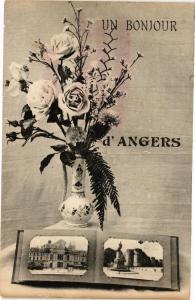 CPA Un Bonjour d'ANGERS (189809)