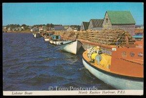 Lobster Boats - North Rustico Harbour, P.E.I.