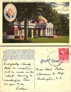 Monticello Home of Thomas Jefferson, Charlottesville, Virginia
