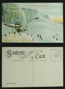 Ice Mountain American Falls  Niagara Falls c 1905-1910