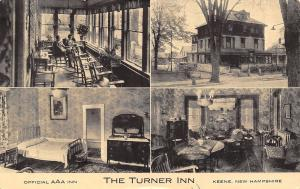 Keene NH~Turner Inn~Inside Out~Rocking Chairs Porch~Guest Room~Dining~B&W 1930s