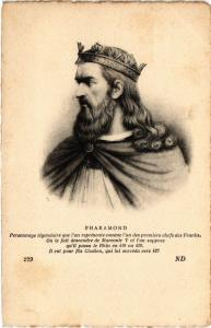 CPA Pharamond, Personnage légendaire que l'on Royalty Nobelty (314261)