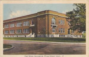 Canada Summerside High School Prince Edward Island 1941