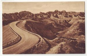 P427 JL 1941 postcard dillon pass south dakota