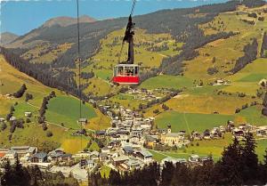 GG11979 Hoehenluftkurort Saalbach Seilbahn zum Schattberg Seilbahn