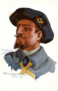 WWI - Hartman S. Kopfweiler, Alsace.  Artist: Em Dupuis