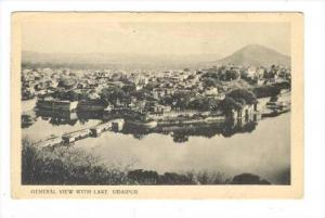 General View With Lake, Udaipur, India, 1900-1910s