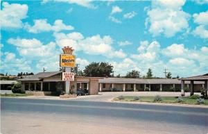 Ozona Texas~Silver Spur Motel $8.24 Room~1966 Postcard