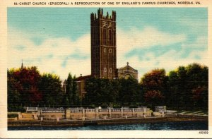 Virginia Norfolk Christ Episcopal Church 1946