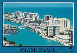 Florida Miami Beach The Fun And Sun Capitol Shown Are The Deauville And Caril...