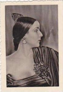 GARBATI CIGARETTE CARD FAMOUS DANCERS NO 78 ERY BOS