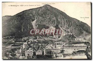 Old Postcard Briancon and Fire Vauls