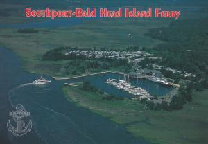 Southport-Bald Head Island Ferry , North Carolina ,50-70s
