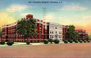 South Carolina Columbia Columbia Hospital 1941  Curteich