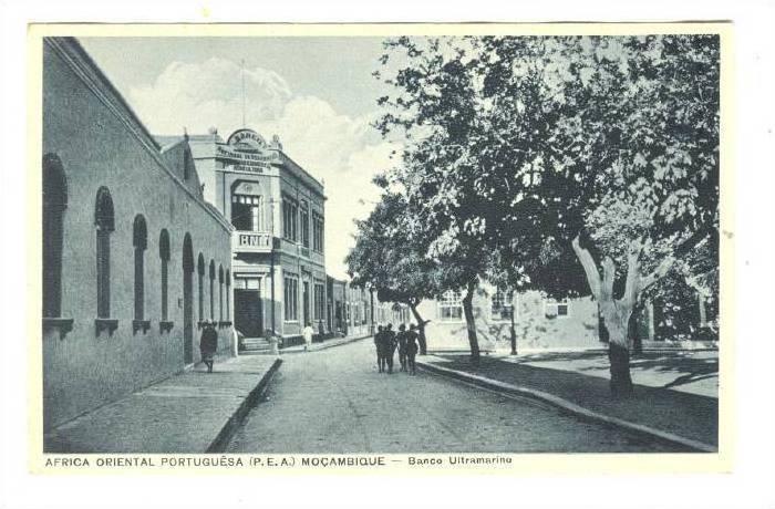 Banco Ultramarino, Africa Oriental Portuguesa (P.E.A.), Mocambique, Africa, 1...