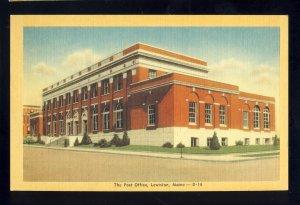 Lewiston, Maine/ME Postcard, United States Post Office