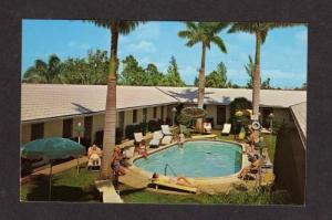 FL Stewart Motel Pool NAPLES ON THE GULF FLORIDA PC