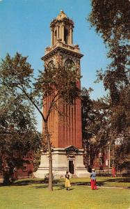Providence Rhode Island~Brown University~Carrie Tower Campanile~Clock~1950s PC