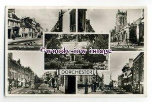 aj0555 - Dorset - Multiview x 5 of Various Views around Dorchester - Postcard