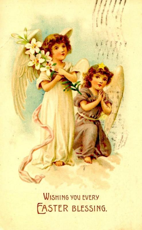 Greeting - Easter Angel