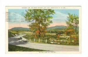 Highway No. 20 near Hickory Nut Gap, Asheville, North Carolina,PU-1942