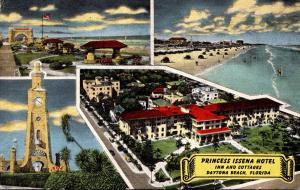 Florida Daytona Beach Princess Issena Hotel Inn and Cottages