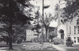RP: MT. PLEASANT, Iowa, 30-40s; Iowa Wesleyan College, Campus View