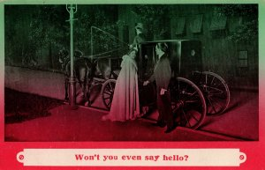 17086 Risque - Won't You Even Say Hello? 1911